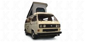 NAMIOT DACHOWY SZARY VW T3 85-92 3 OKNA